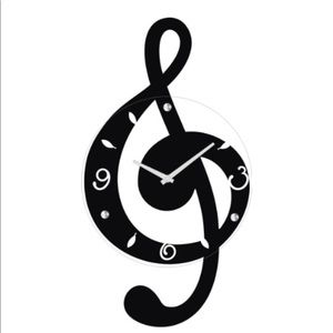 🎼Ashton Sutton Musical Clef Wall Clock🎼